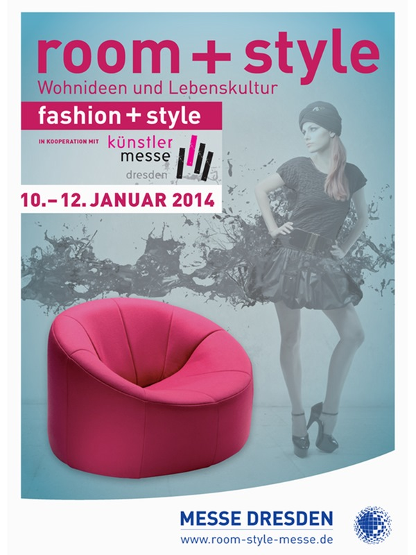 "DRESDNER PIANO SALON auf der Messe ""room+style 2014"""